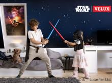 STAR WARS a VELUX - Zcela zatemňující roleta DKL